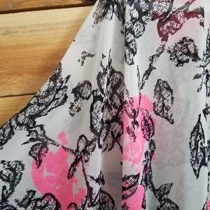 Lush Tops - Lush Brand Kimono Cover Up Sz OS